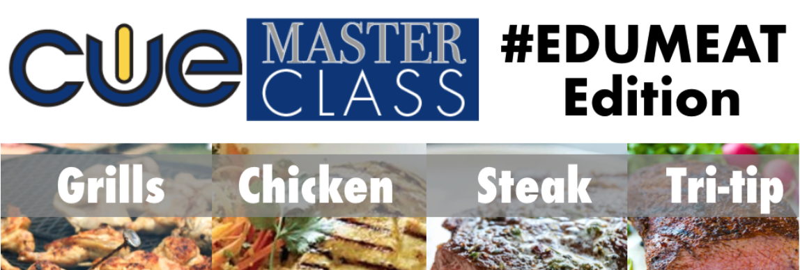 CUE Master Class EduMeat