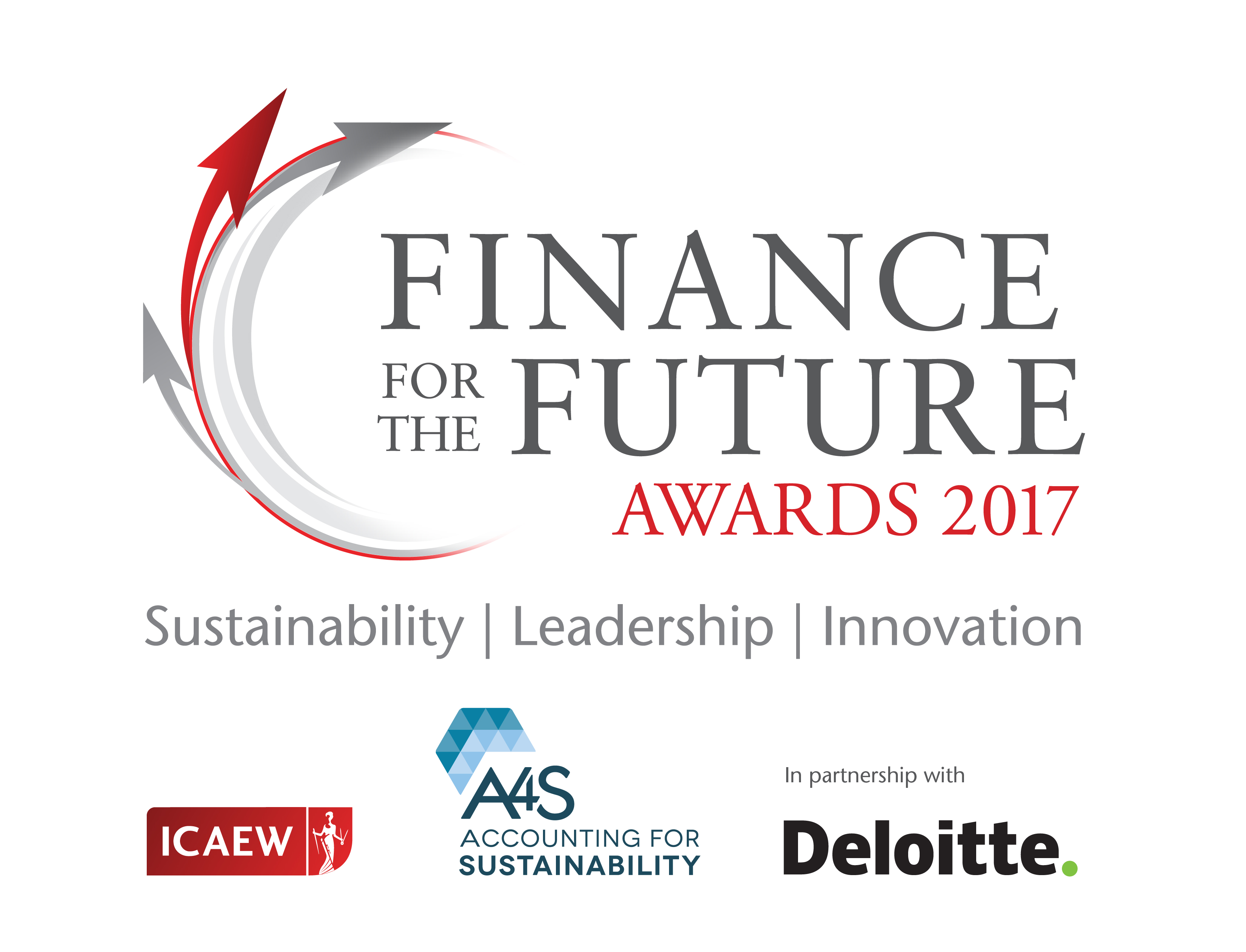 Finance for the Future awards 2016