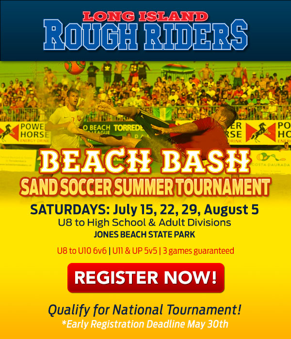 Beach Bash Sand Soccer Tournament