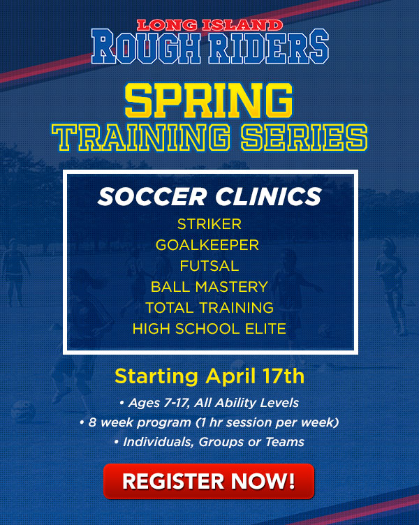 Spring Training Series Soccer Clinics