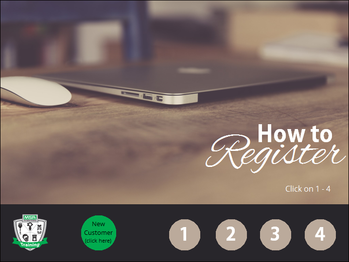 Tutorial - How to Register for a MSA Course