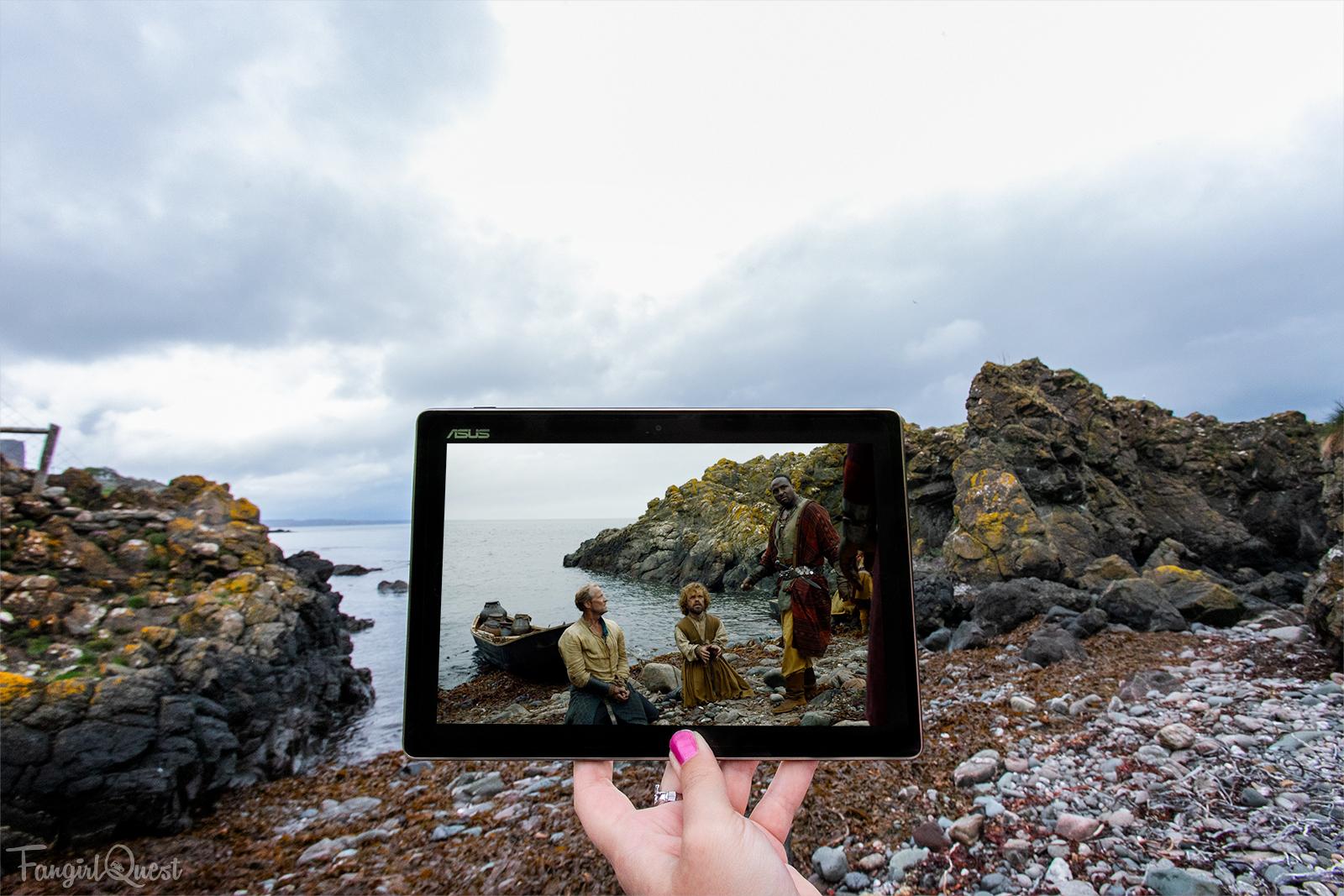 Sceneframing Game of Thrones in Northern Ireland