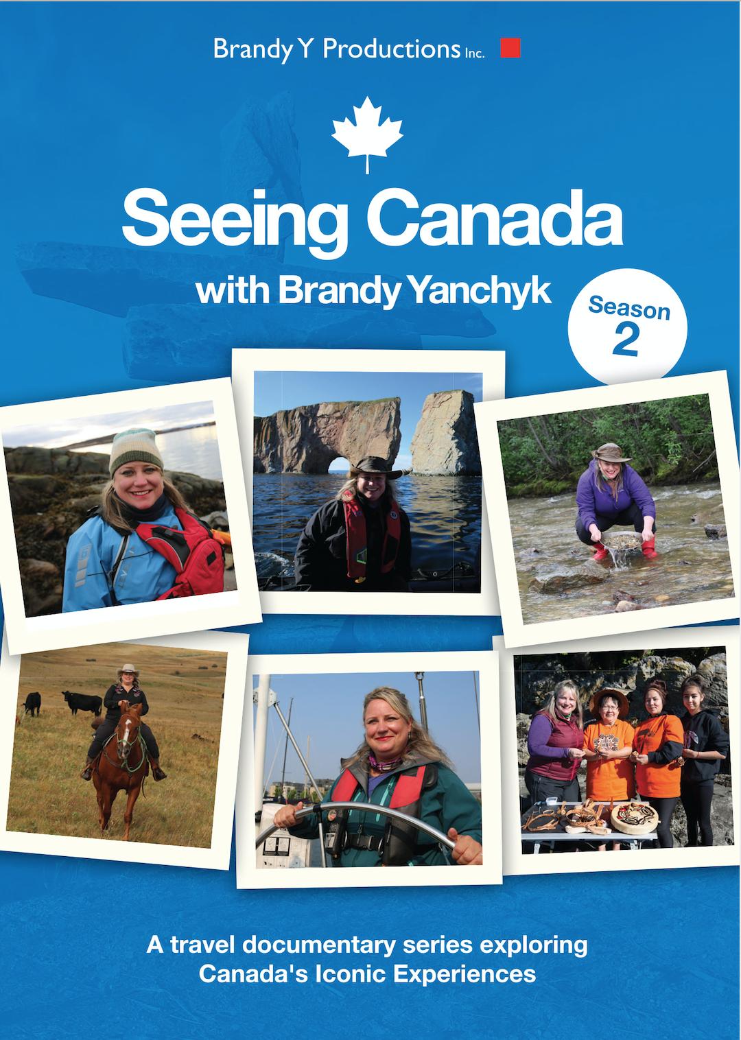 """Seeing Canada"" with Brandy Yanchyk"
