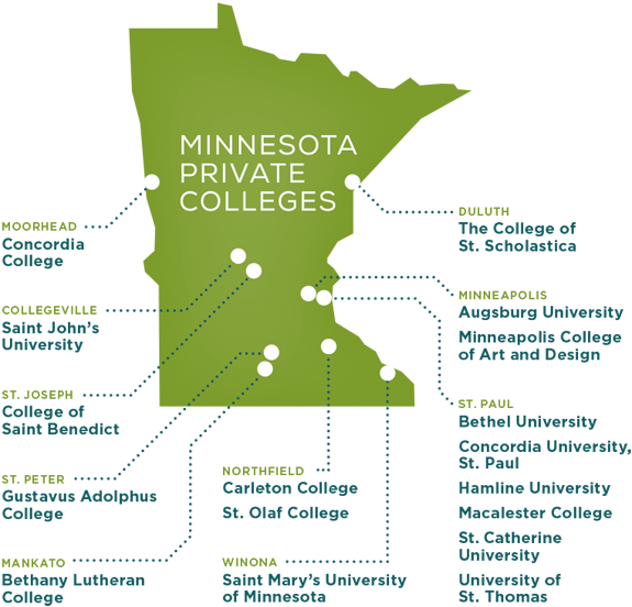 map of campus locations