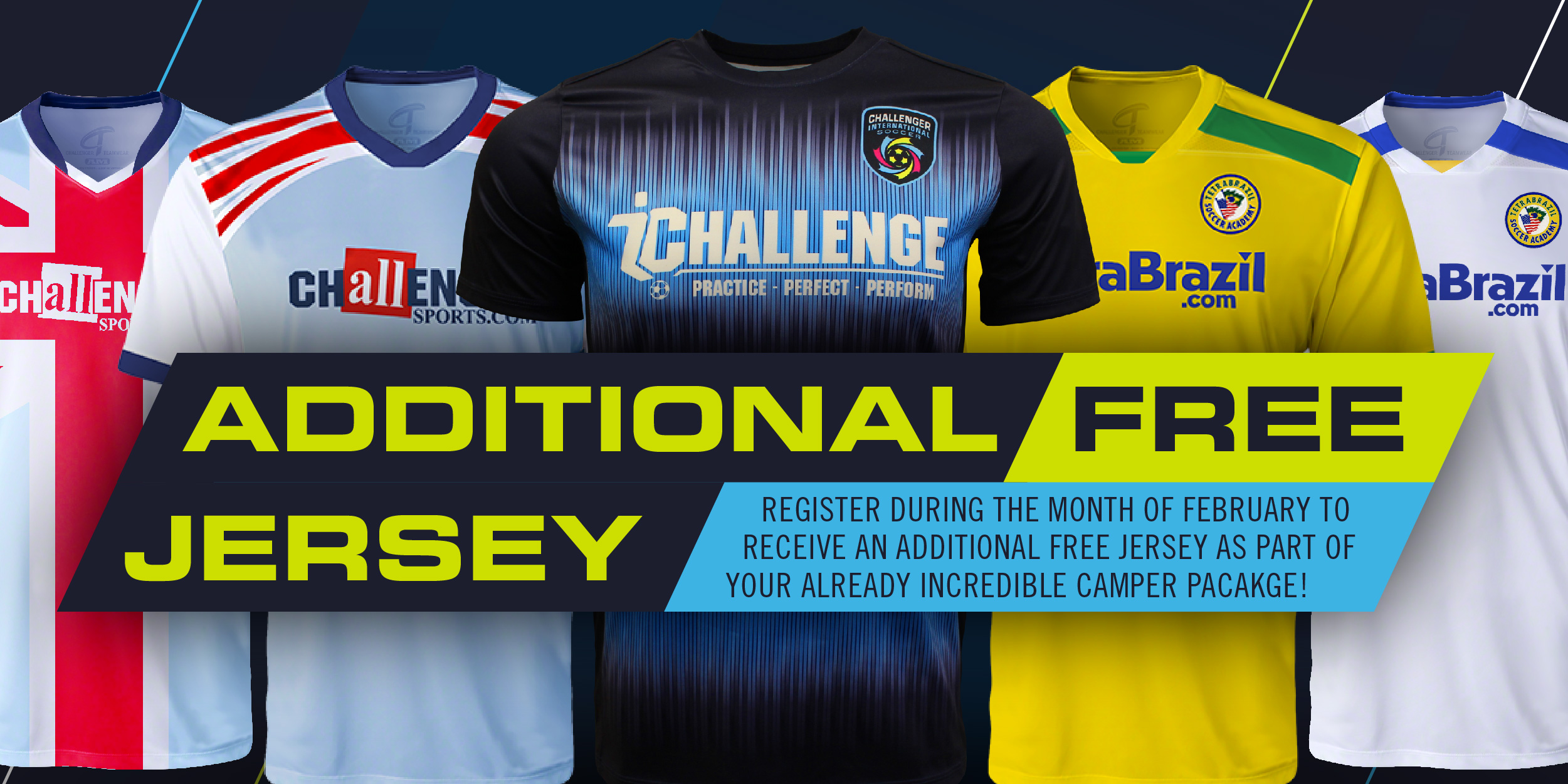 Free Jersey with Feb Registration