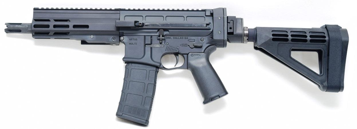 Aptus Pistol Folding Black