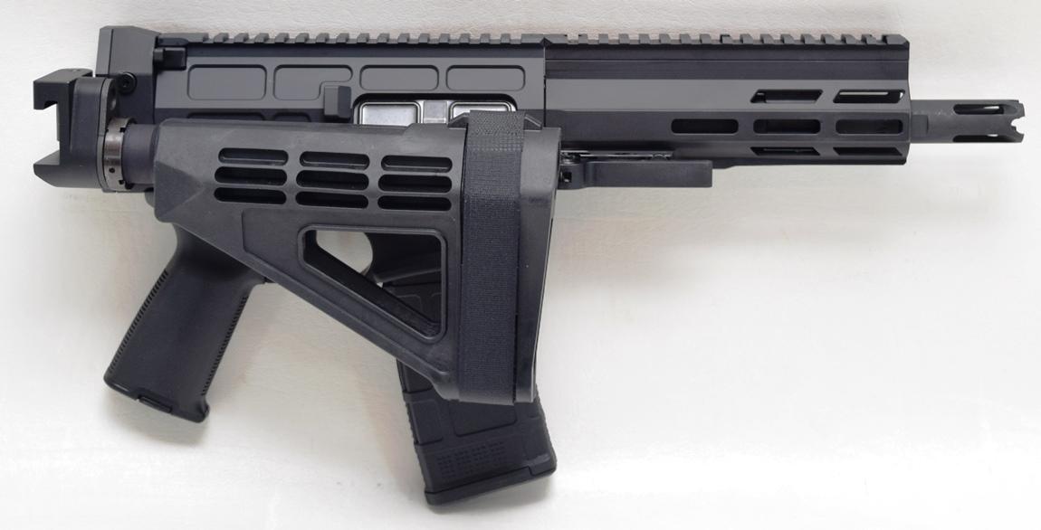 Aptus Pistol folded