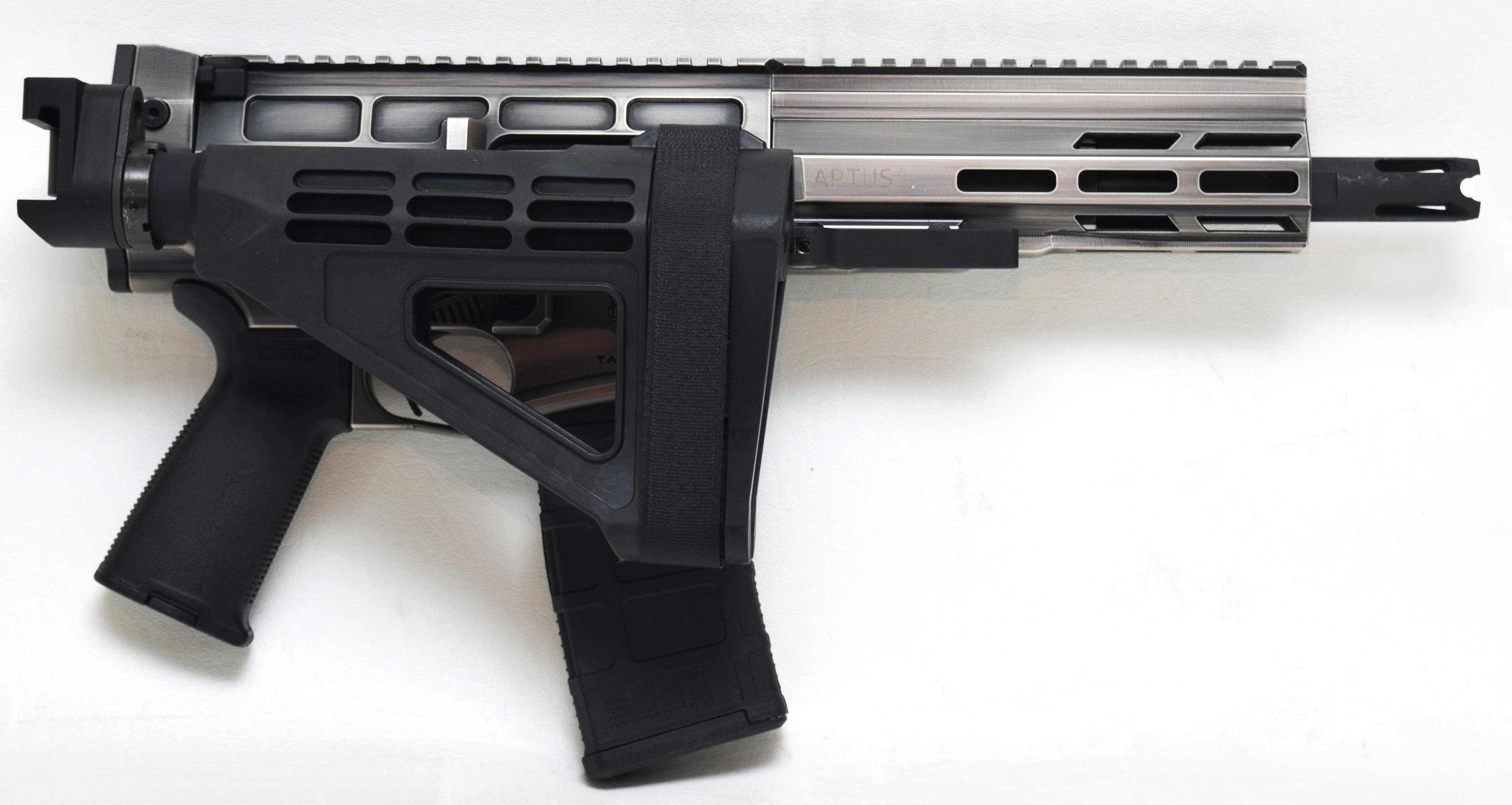 Aptus pistol folding