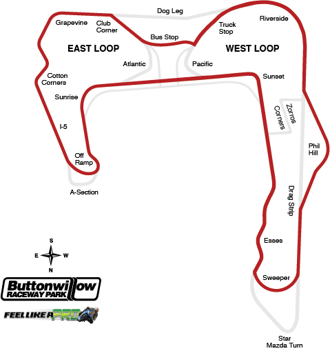 Laguna Track Map
