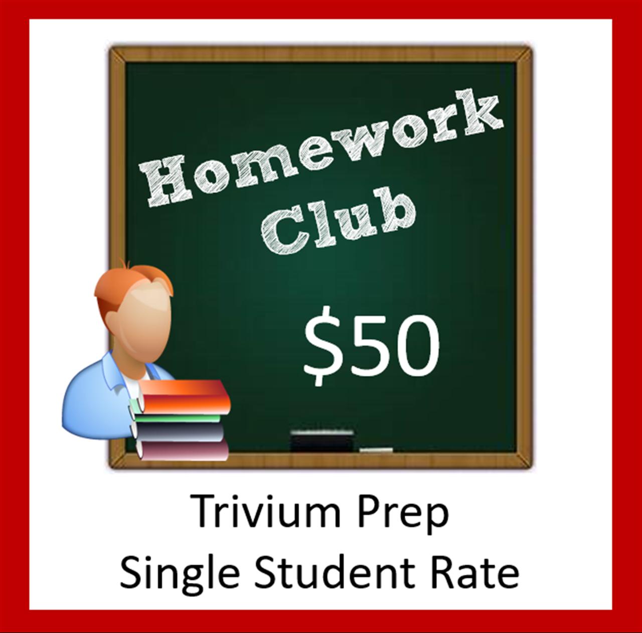 trivium prep homework