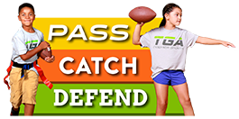 Learn to Pass, Catch, and Defend!