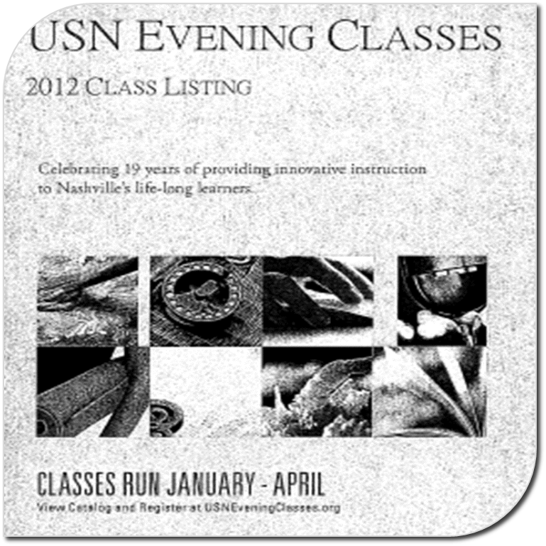 USN Evening Classes Catalog 2012-13