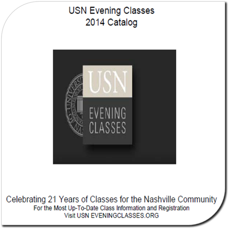 USN Evening Classes Catalog 2013-14