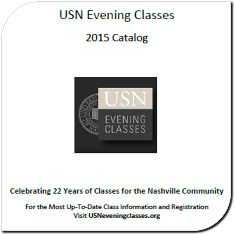 USN Evening Classes Catalog 2014-15