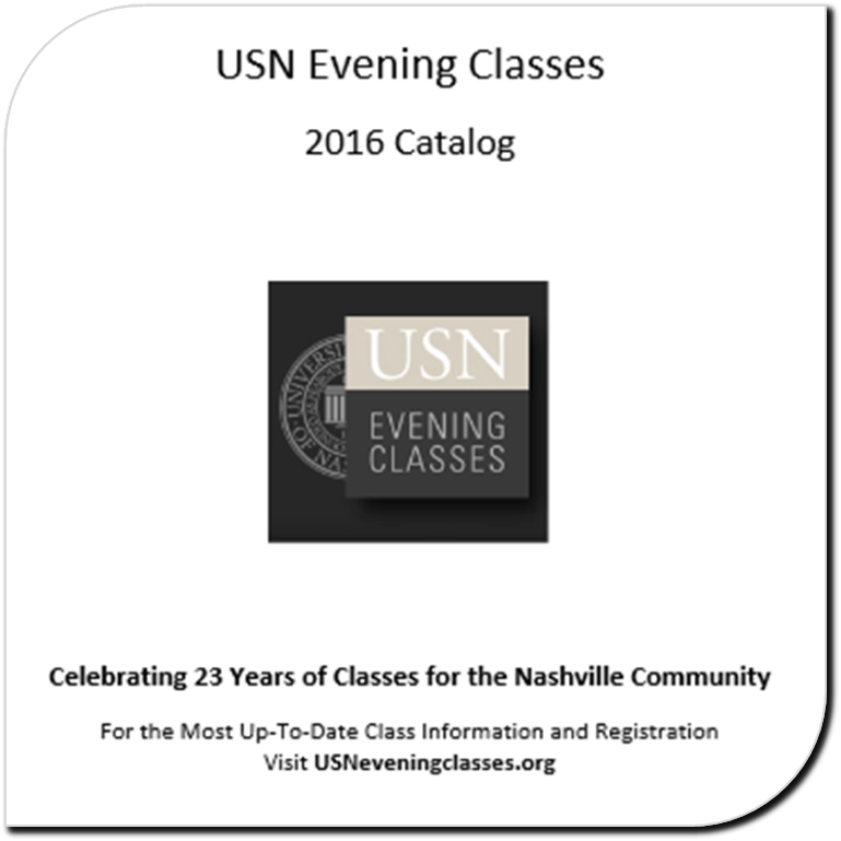 USN Evening Classes Catalog 2015-16