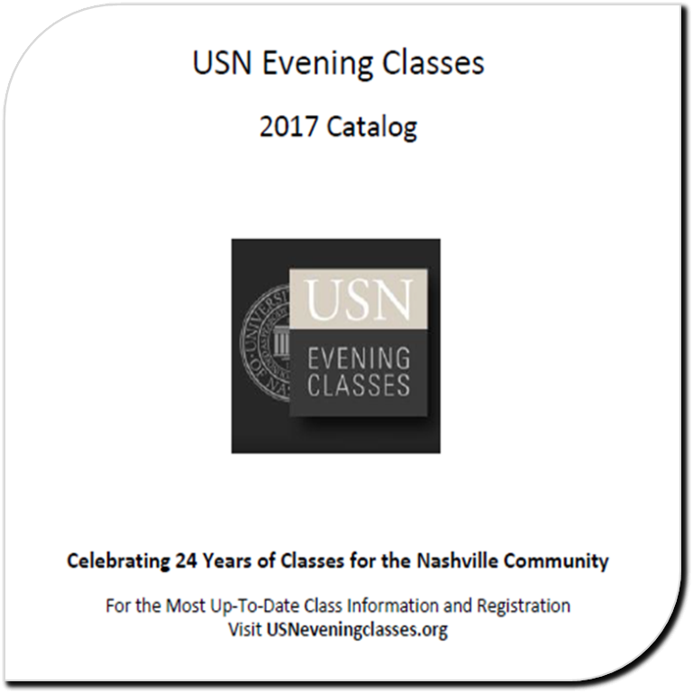 USN Evening Classes Catalog 2016-17