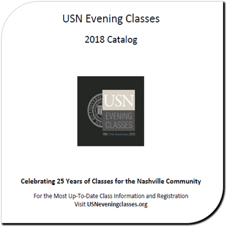 USN Evening Classes Catalog 2018-19