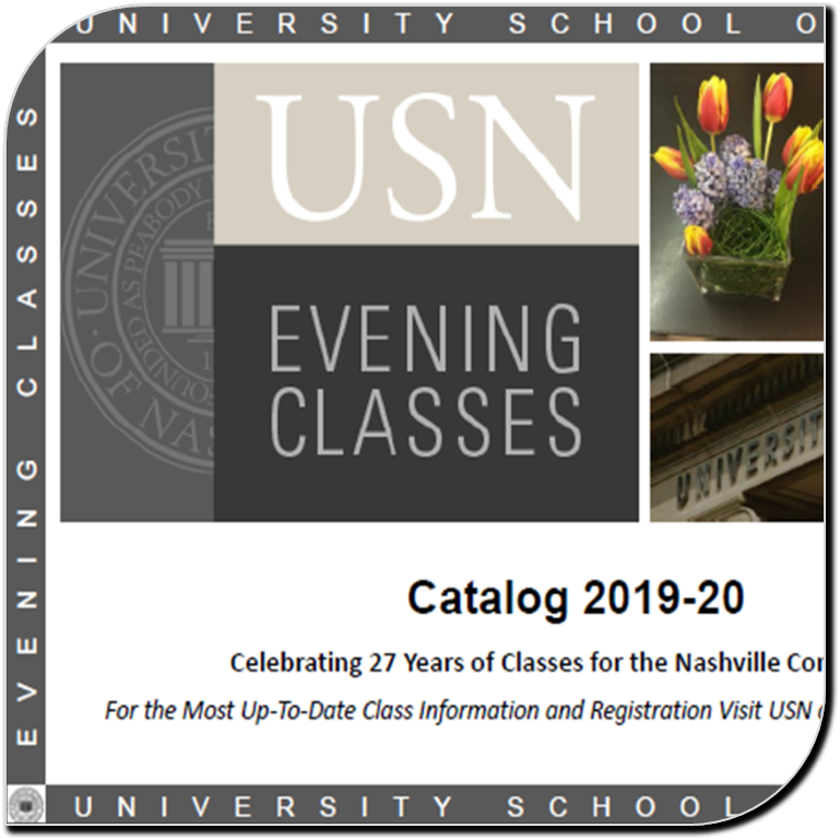 USN Evening Classes Catalog 2019-20