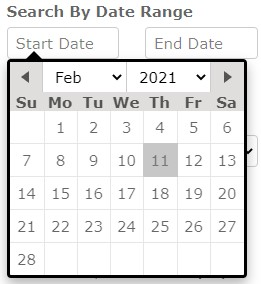 Date Search